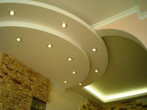 Многоуровневые потолки5