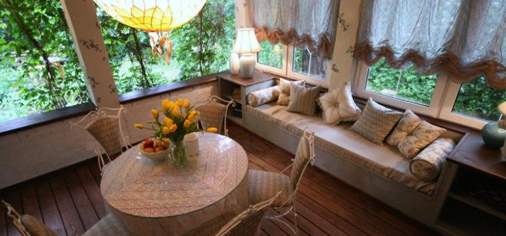 Особенности интерьера загородного дома или дачи