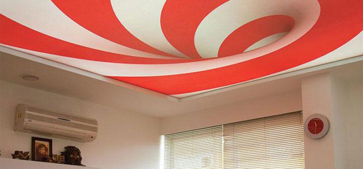 Почему стоит поставить натяжной потолок на кухне?
